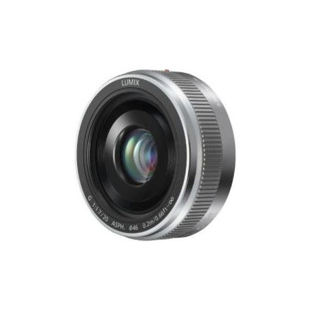 Panasonic LUMIX G 20mm/ F1.7 II ASPH Silver