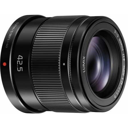 Panasonic Lumix G 42.5mm f/1.7 Asph. O.I.S(Black)
