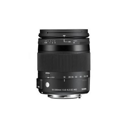 Sigma 18-200mm F3.5-6.3 DC Macro OS HSM | C(Canon)