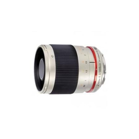 Samyang 300mm f/6.3 Mirror Lens Silver (M4/3)