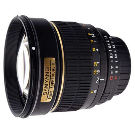 Samyang 85mm f/1.4 Aspherical IF (Canon)