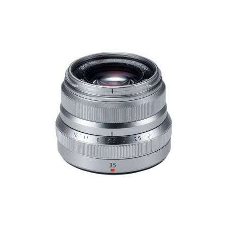 FUJINON XF 35mm F2 R WR (Silver)