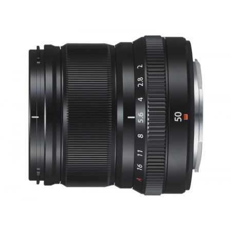 FUJINON XF 50mm F2 R WR Black