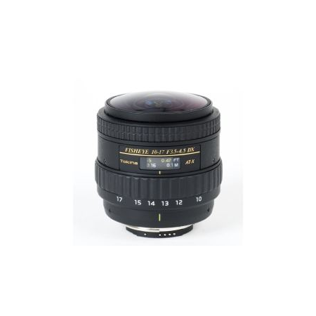 Tokina AT-X 107 10-17mm f/3.5-4.5 No Hood (Nikon)
