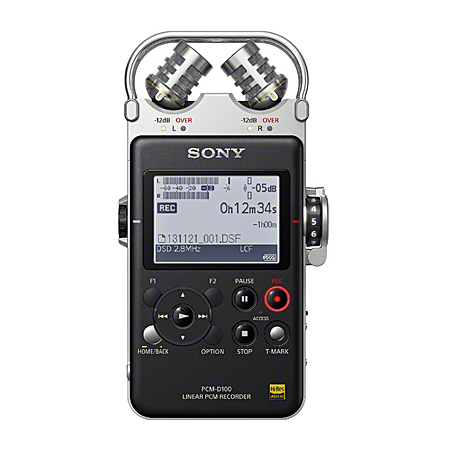 Sony PCM-D100 Hi-Res Voice Recorder