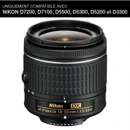 Nikon AF-P DX NIKKOR 18-55mm f/3.5-5.6G (no VR)