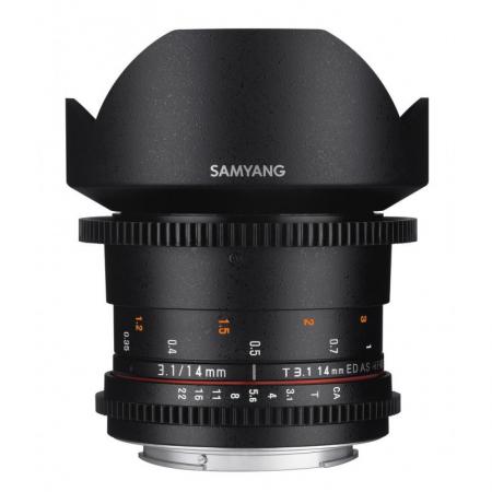 Samyang 14mm T3.1 ED AS IF UMC VDSLR II (Canon)