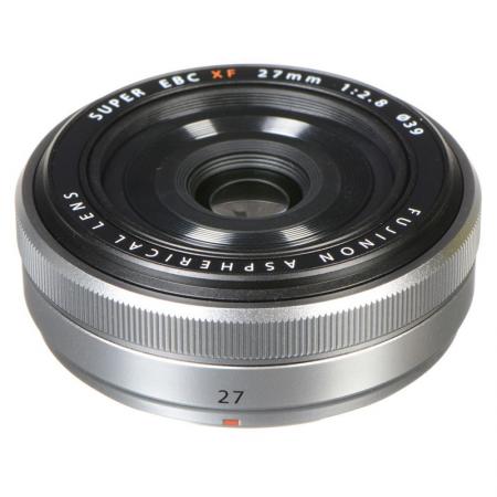 FUJINON XF27mm F2.8 (Argent)
