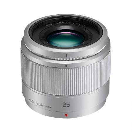 Panasonic Lumix G 25mm f/1.7 Asph (Argent)