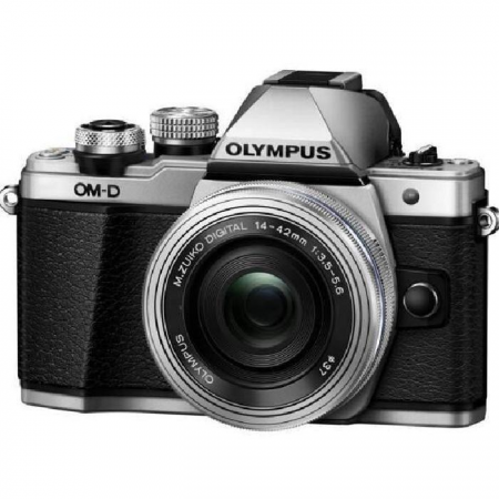 Olympus OM-D E-M10 MK II (14-42 EZ) Silver