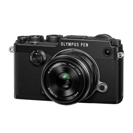 OLYMPUS PEN-F (17mm f1.8) Black