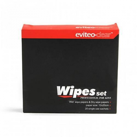 Eviteo Lens Cleaning Wipes 100 EC-0102
