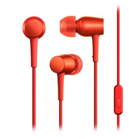 Sony MDR-EX750AP IEM Headphones Red