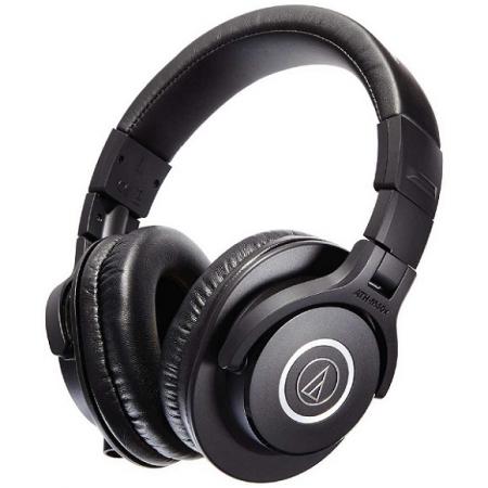 Audio-Technica ATH-M40x Over Ear Headphone Black