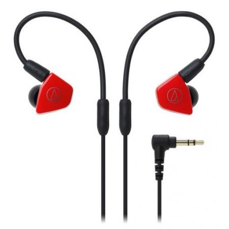Audio-Technica ATH-LS50 Earphones Red