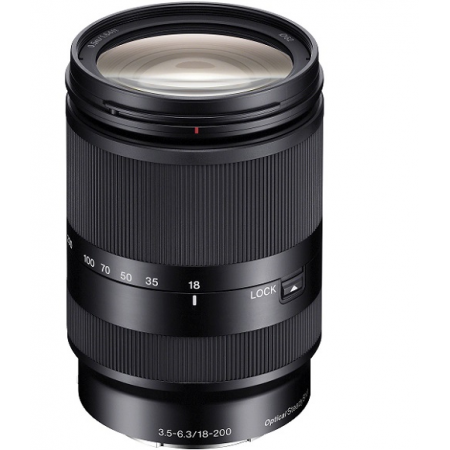 Sony E 18-200mm F3.5-6.3 OSS LE (For NEX) (Noir)