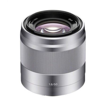 Sony E 50mm f/1.8 OSS Silver (NEX)