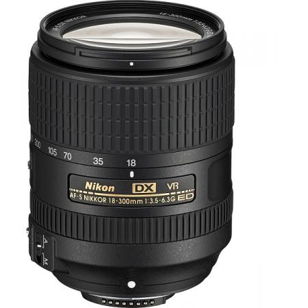 Nikon AF-S DX 18-300mm f/3.5-6.3G ED VR (New)