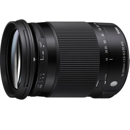 Sigma 18-300mm F3.5-6.3 DC MACRO OS HSM | C (Nik)