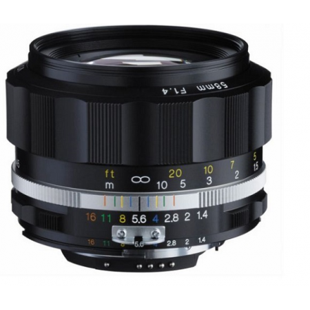 Voigtlander Nokiaton 58mm F1.4 SL II S (Nikon)