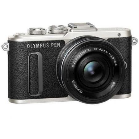Olympus PEN E-PL8 Kit (14-42 EZ) (Noir)