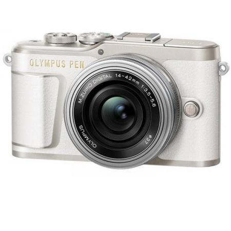 Olympus PEN E-PL9 Kit (14-42 EZ) (Blanc)