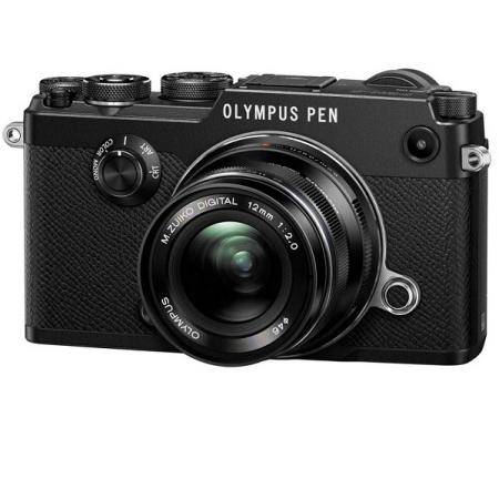 OLYMPUS PEN-F Kit (12mm f2.0) Noir
