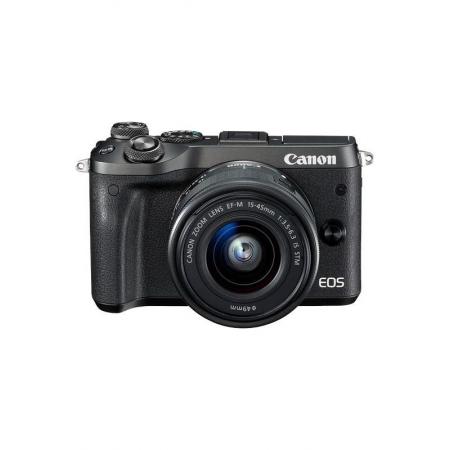 Canon EOS M6 Boitier nu Argent (Boite de kit)